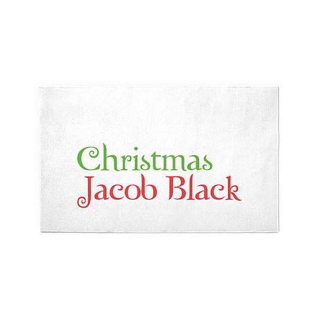 All I Want For Christmas Is Jacob B 3'x5' Area Rug