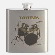 Drum Set IX Flask