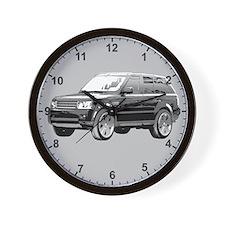 Range Rover 01 Clock Wall Clock