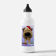 BorderTerrBlue Water Bottle
