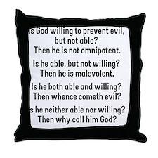 probgod Throw Pillow