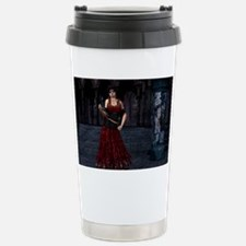 Day of the Dead Crimson Evening Travel Mug
