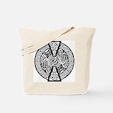 Celtic Knotwork Dragons Tote Bag