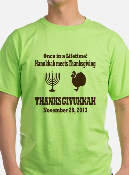 Thanksgivukkah Thanksgiving meets Ha T-Shirt
