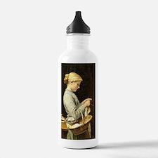 Albert Anker - Knittin Water Bottle