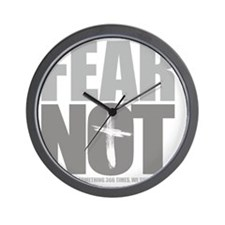 FearNot-4dark Wall Clock