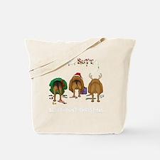 BloodhoundShirtDark Tote Bag