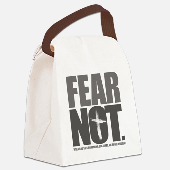 FearNot Canvas Lunch Bag