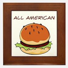 All American Framed Tile