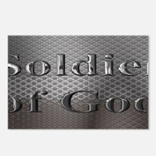soldier of God license pl Postcards (Package of 8)