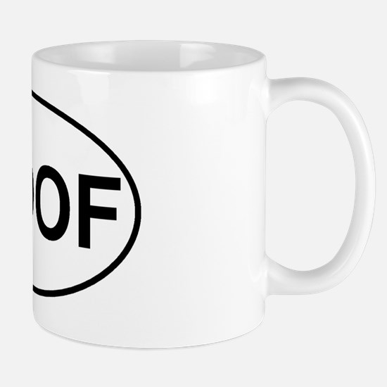 1000x600woofovalsticker Mug