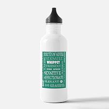 Whippet_edited-1 Water Bottle