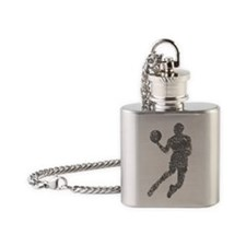 jordan grey Flask Necklace