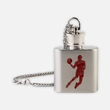 red Flask Necklace