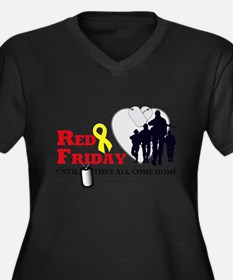 Red Friday - Until They All C Plus Size T-Shirt