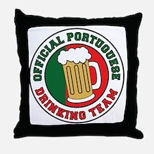 Portuguese Drinnking Team Throw Pillow
