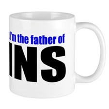 Brave father of twins Mug