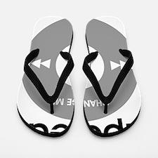 iPeed Today, Funny Baby Gift. Flip Flops