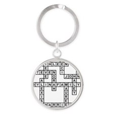 BYLINA Round Keychain