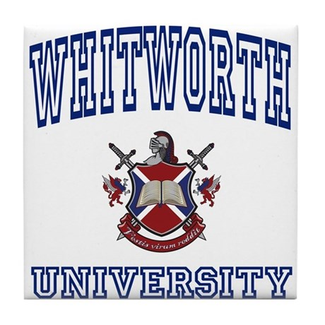 WHITWORTH University Tile Coaster