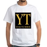 YT 24/7/365 White T-Shirt