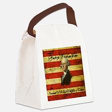 Washington Canvas Lunch Bag