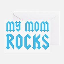 mymomrocksblueCP Greeting Card
