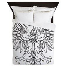 Polish Eagle With Gold Crown Queen Duvet