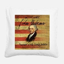 Adams Square Canvas Pillow
