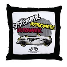 Greased Lightening Throw Pillow