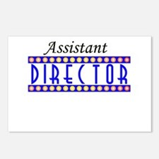 Assistant Director Postcards (Package of 8)