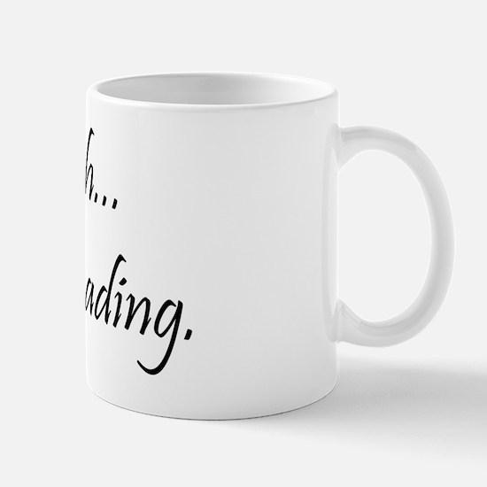 shhblackpng2 Mug