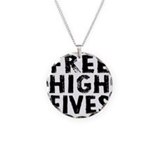HIGH FIVE BLK Necklace