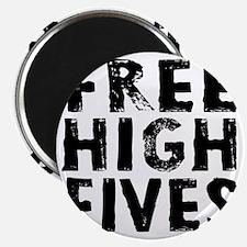 HIGH FIVE BLK Magnet