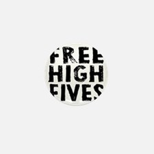 HIGH FIVE BLK Mini Button