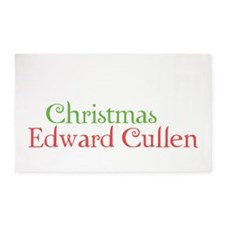 All I Want For Christmas Is Edward  3'x5' Area Rug