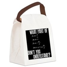 MPdontyounderstand Canvas Lunch Bag