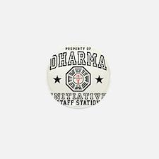 Dharma Staff St Plain Mini Button