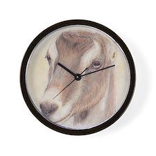 LaMancha Doe Portrait Wall Clock