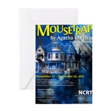 Mousetrap Greeting Card