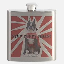 10x10_StopPuppyMill Flask
