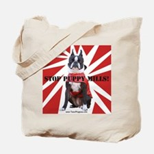 10x10_StopPuppyMill Tote Bag