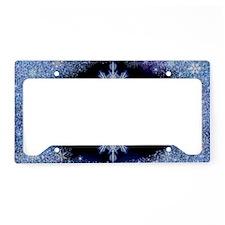 Snowflake Calendar - July License Plate Holder