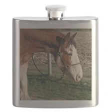 Clydesdale - Blazin TNT Flask
