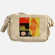 a very sexxxy halloween hartter Messenger Bag