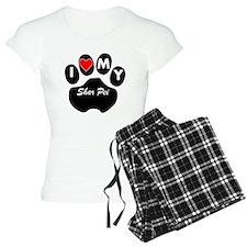 I Heart My Shar Pei Pajamas