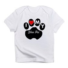 I Heart My Shar Pei Infant T-Shirt