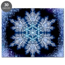 Snowflake Calendar - July - square Puzzle