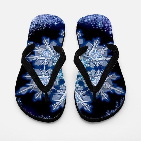 Snowflake Calendar - July - square Flip Flops