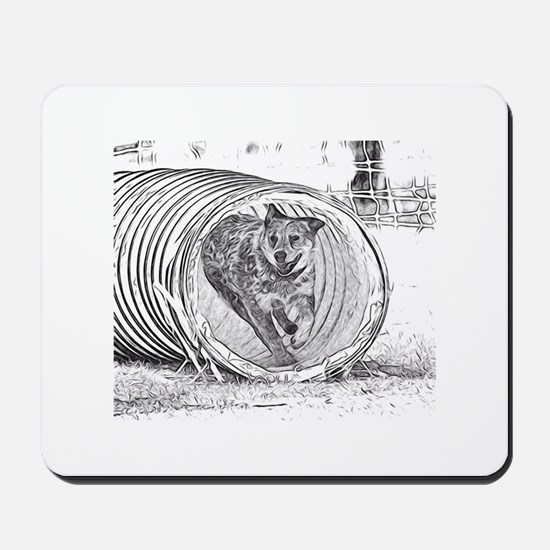 Tunnel Love Mousepad